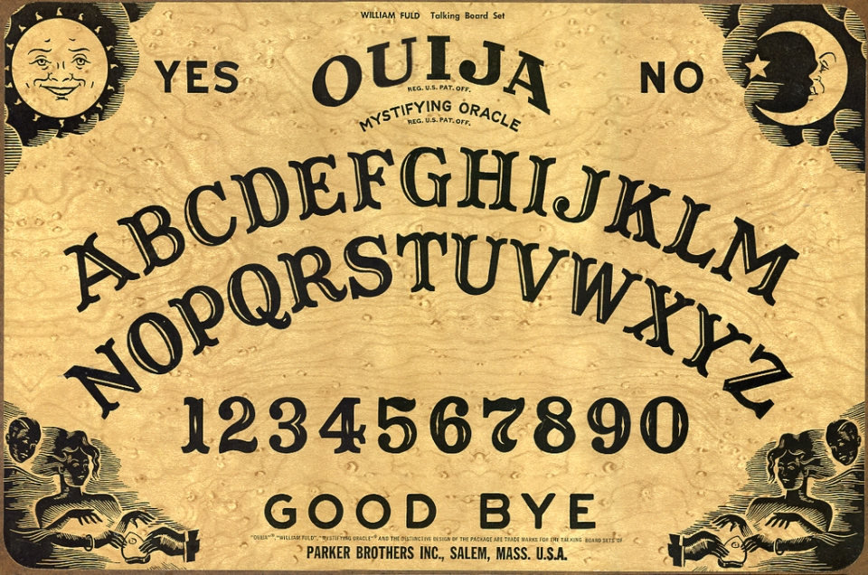According to my teenaged experiments with the Ouija Board, God is real and Jack Kerouac made it to heaven.