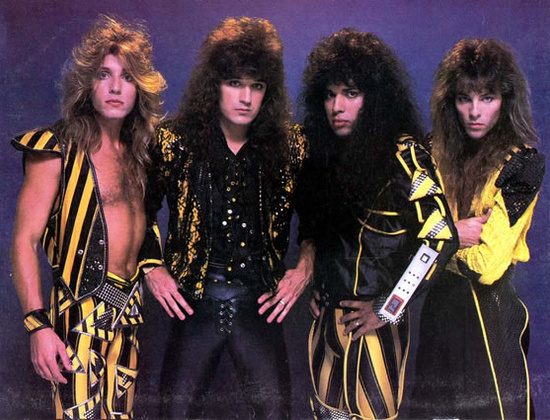 While I endured a troubled youth, I never turned to Christian Metal band Stryper.