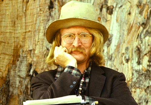 My original corrupting and enlightening influence: poet-novelist Richard Brautigan (1935-1984).