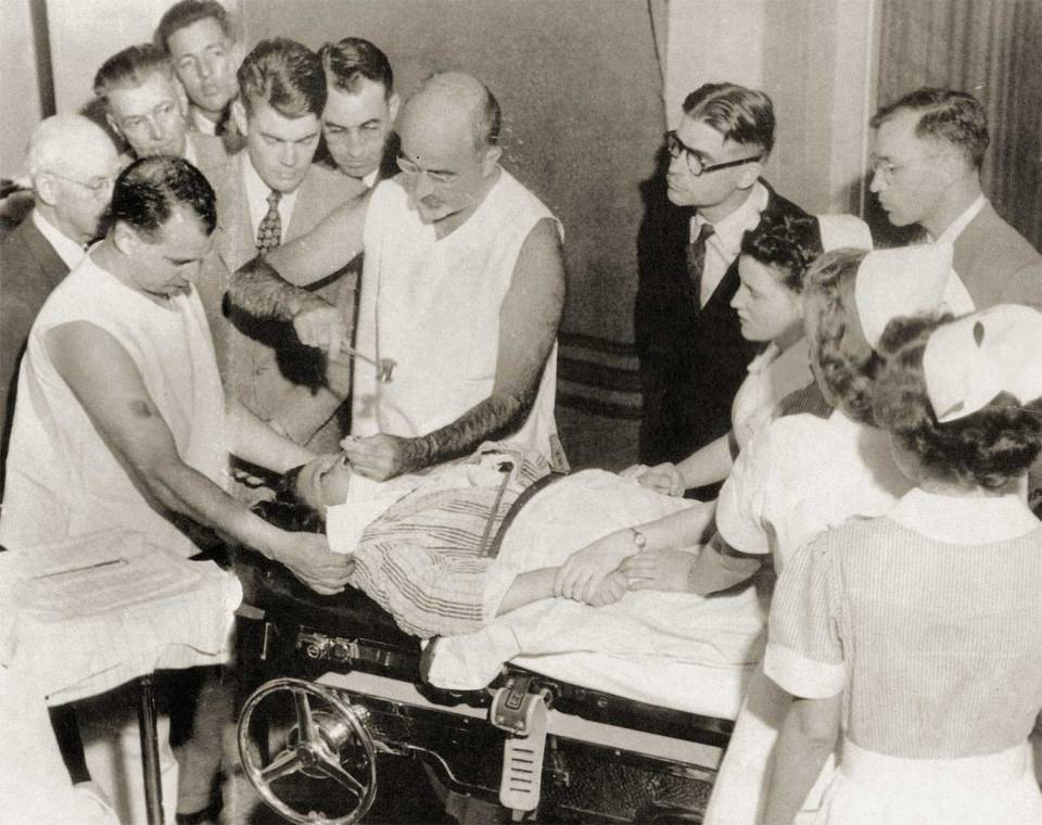 Teenage Lobotomy: acclaimed neurologist Walter Freeman performs a little mental health adjustment, early 1950s-style.
