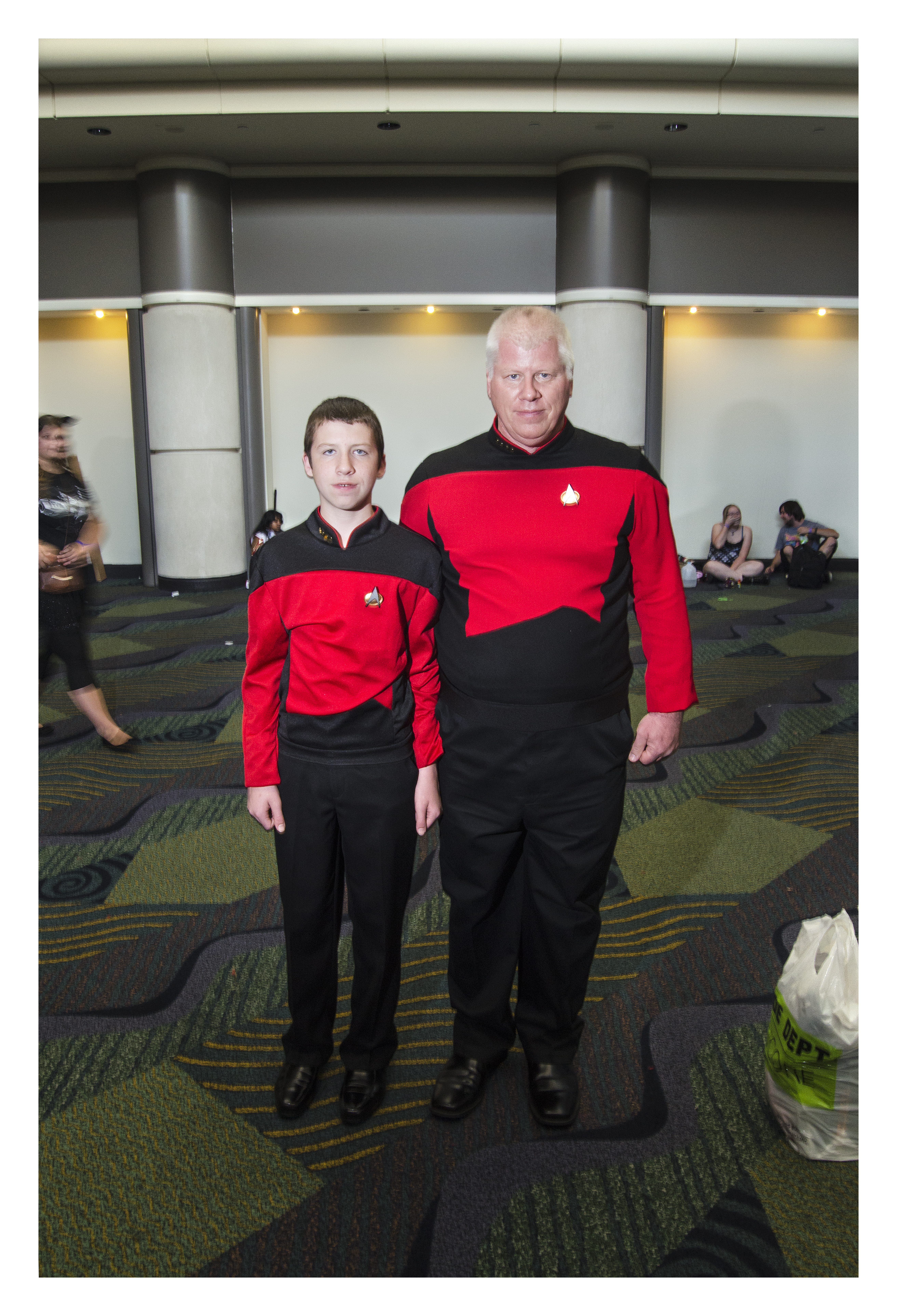 [Trekkie and Son.]