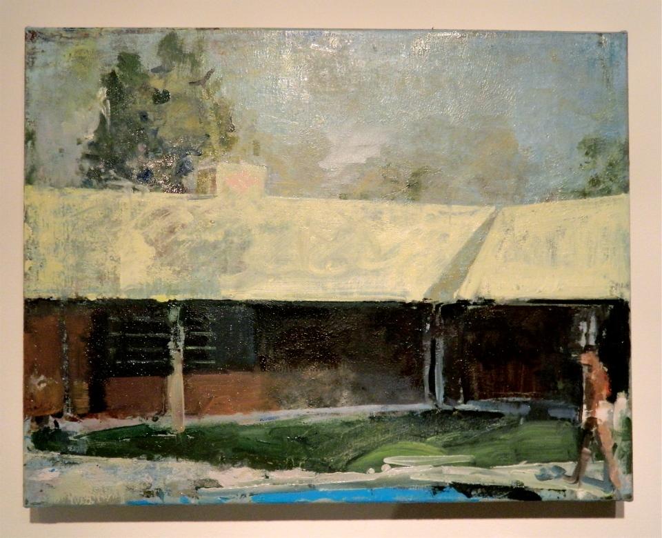 "[""The Return,"" oil on canvas, 15 x 20; 2013.]"